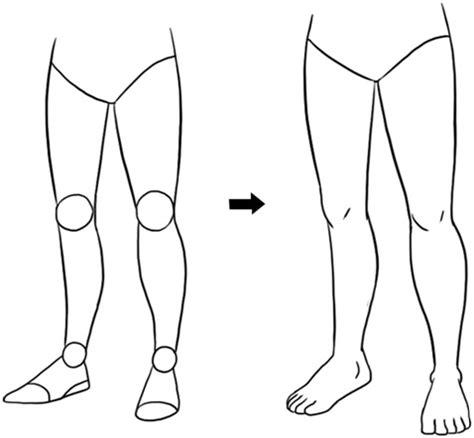 tutorial menggambar kaki mangaka kendari