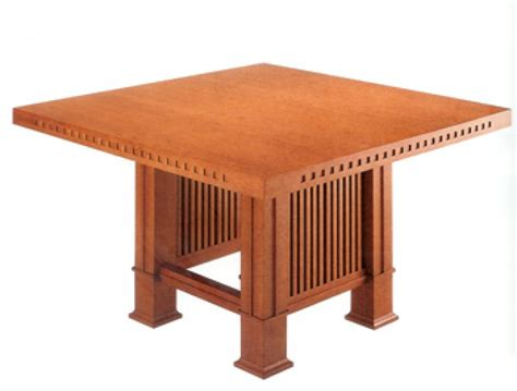 frank lloyd wright table tavolo table frank lloyd wright