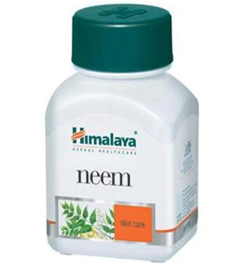 Home Design Furnishings Himalaya Neem Capsules Pack Of 3 By Himalaya Online