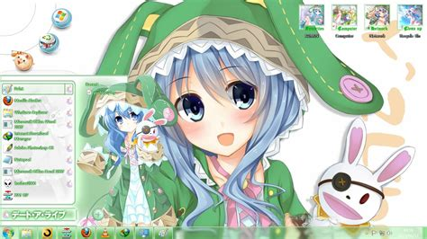 download theme windows 7 yoshino date a live win7 theme yoshino date a live v10