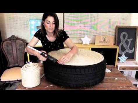 diy como hacer  asiento  una rueda de coche youtube