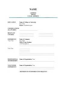 Fill In The Blank Resume Template by Resume Template Cv Free Microsoft Word Format In Ms Inside 93 Wonderful Eps Zp