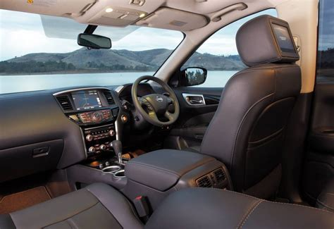 nissan pathfinder 2017 interior 2017 nissan pathfinder now on sale in australia from