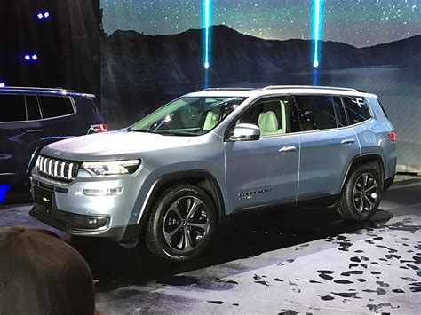 2019 Jeep Grand Wrangler by Jeep Grand Commander Phev Revealed In China Will Go On