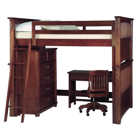 double loft bed with desk uye home double loft beds with desk