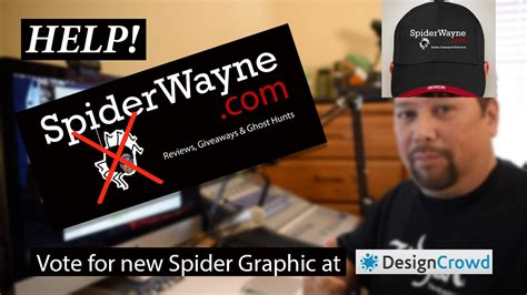 designcrowd youtube help me pick a new spider graphic at designcrowd com youtube