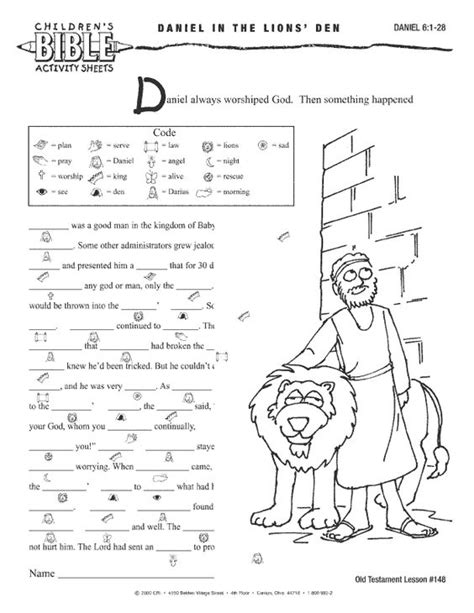 Bible Worksheets For by Bible Worksheets Children S Bible Activities