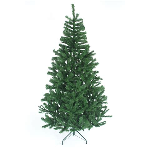 6ft 180cm traditional artificial christmas tree metal