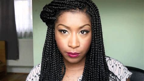 large box braids hairstyles box braids inspired hairstyles
