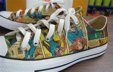 comic book sneakers kodak shoe jonathan fong style
