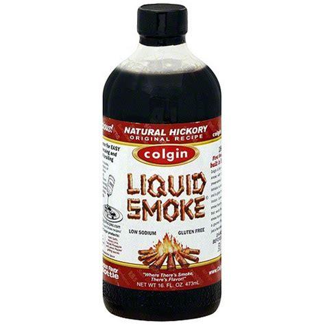 colgin hickory liquid smoke 16oz 2 pack