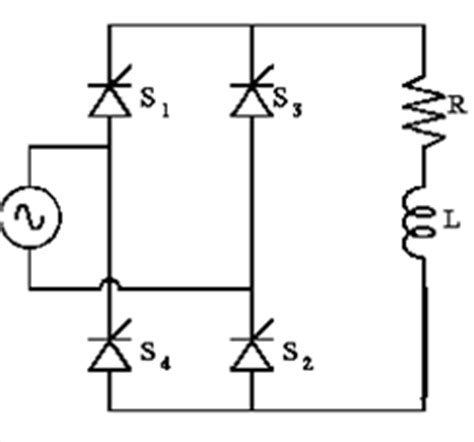 single phase diode bridge rectifier with rl load single phase converter with rl load power electronic systems applications and resources