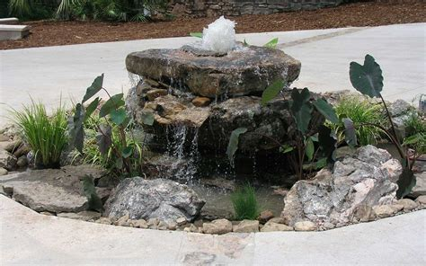 earth garden center rock water features the earth garden center