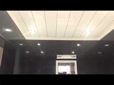 Fitting Plastic Ceiling Cladding by How To Fit Bathroom Cladding Ceiling Panels Trims Ebay