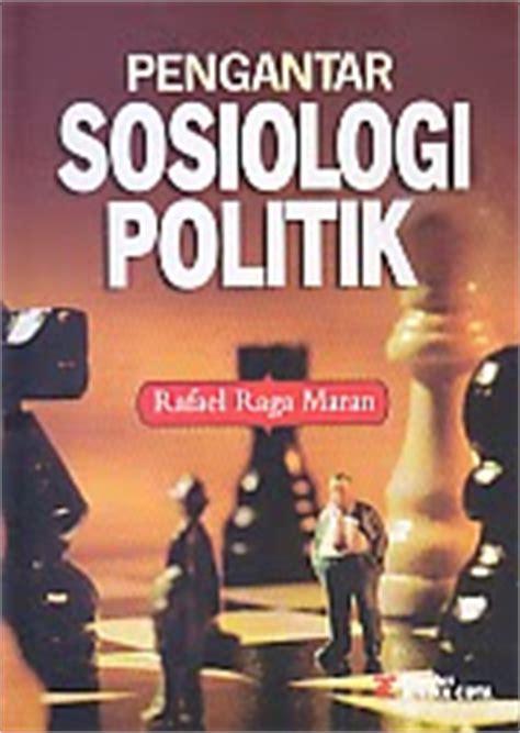 toko buku rahma pengantar sosiologi politik
