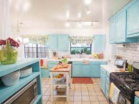 blue kitchen paint colors pictures ideas tips from hgtv hgtv - 23 gorgeous blue kitchen cabinet ideas