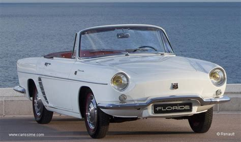 1963 renault floride related infomation specifications