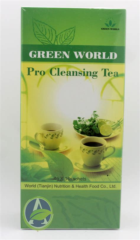 Green Tea For Lung Detox by Distributor Green World Indonesia
