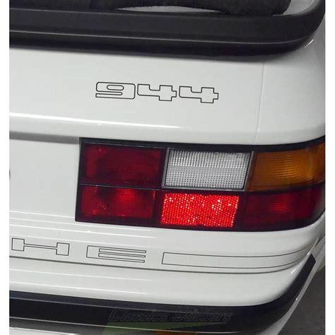 Aufkleber Porsche 924 by Sticker Lettrage 944