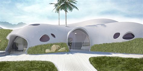 wired houses a wild proposal for domed houses made of inflated concrete wired