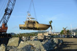 boat salvage puerto rico vessel salvage crews continue clean up operations in