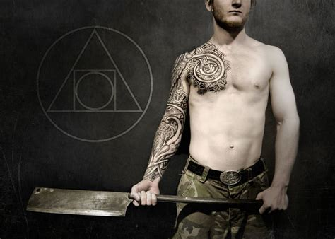 viking armor tattoo urnes armor much