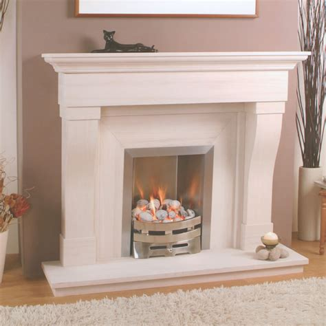 pin contemporary fireplace surround on