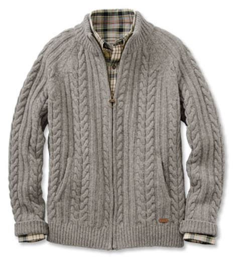 Rope Sweater by Cable Knit Barbour Sweater Barbour 174 Rope Zip Through