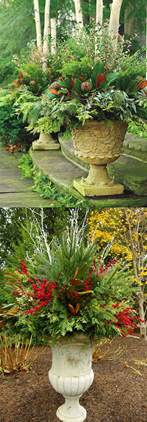 Colorful Outdoor Planters 24 Colorful Outdoor Planters For Winter And