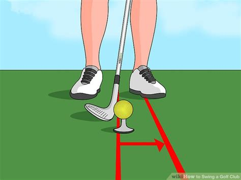 how to swing through the golf ball the best way to swing a golf club wikihow