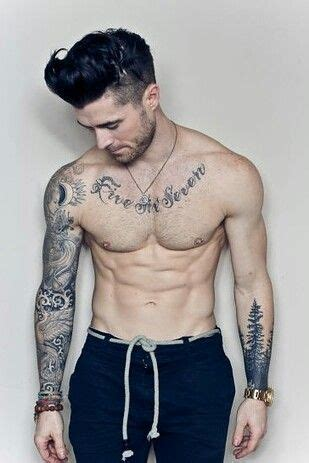 hot tattoo sleeves hot guy alert tattoos mens of the internet pinterest