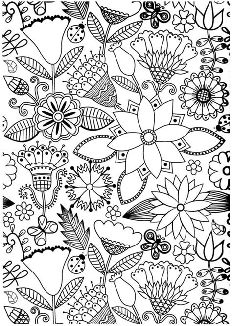 anti stress colouring book for adults australia coloriage pour adulte anti stress jolies fleurs a imprimer