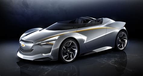 chevy miray hybrid muscle car   future concept
