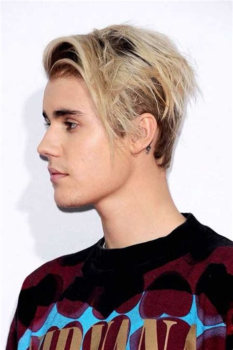 justin biber hairstyle on other boys all side swept 20 justin bieber blonde hair pictures mens hairstyles 2018