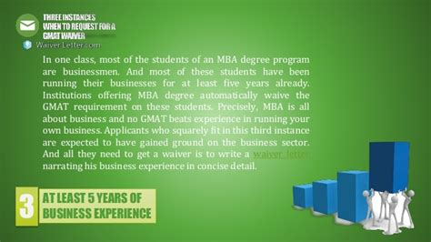 Mba Programs In California Tat Waive Te Mat by Three Instances When To Request For A Gmat Waiver