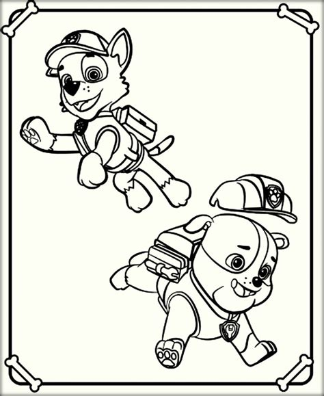 paw patrol coloring pages game paw patrol coloring pages color zini