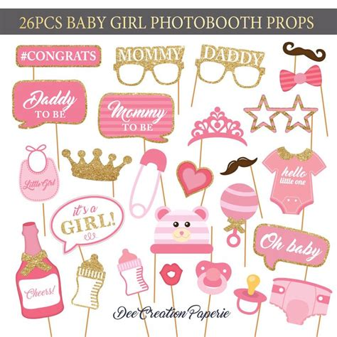 printable cute baby photo booth props multicolor best 25 baby shower photo booth ideas on pinterest baby