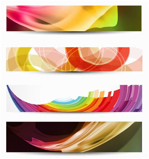design banner horizontal vector horizontal banner free vector graphics all free