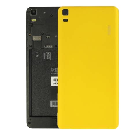 Lenovo A7000 Yellow sunsky ipartsbuy lenovo k3 note k50 t5 a7000 turbo battery back cover yellow
