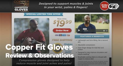 copper fit gloves reviews   safe  effective