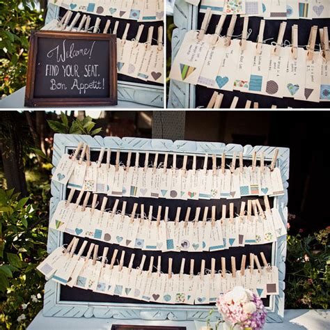 seating card ideas for wedding reception seating chart ideas stephanieteagueeventsblog