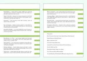 Template details restaurant menu templates quantity 5 size a4 3 x side