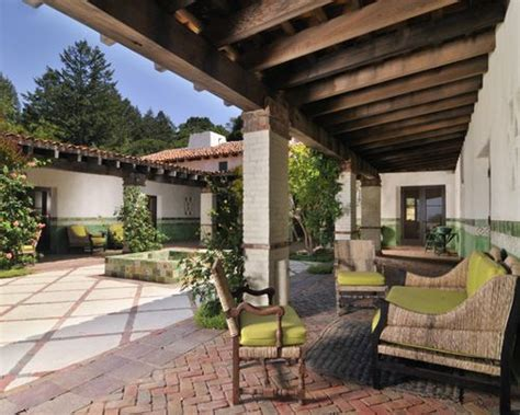 southwestern patio design ideas remodels spanish hacienda home design ideas pictures remodel and