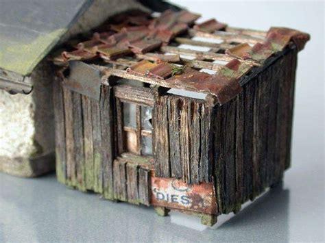 modellbau haus selber bauen haus und stall diorama modellbau community dioramen bauen