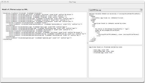 qt xquery tutorial file system exle qt xml patterns 5 10
