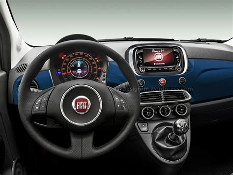 2016 fiat 500 facelift rendering autoevolution