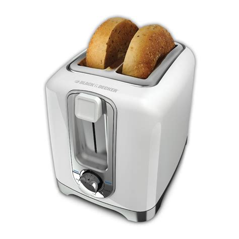 Toaster Slice Black Decker Tr1256w Two Slice Toaster
