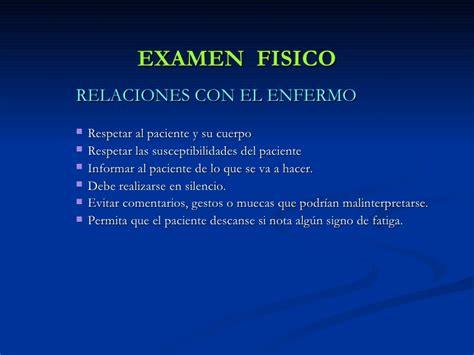 examen fisico general 5 examen fisico signos vitales y apreciacion general