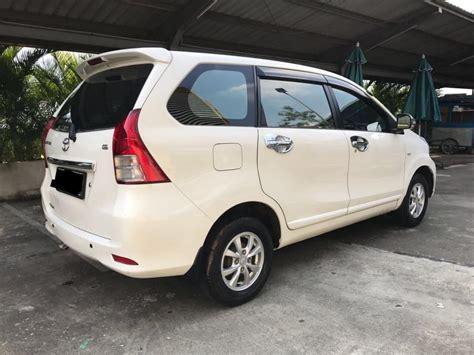 2015 Toyota Avanza 1 5 G M T toyota avanza g a t 2015 warna putih mobilbekas