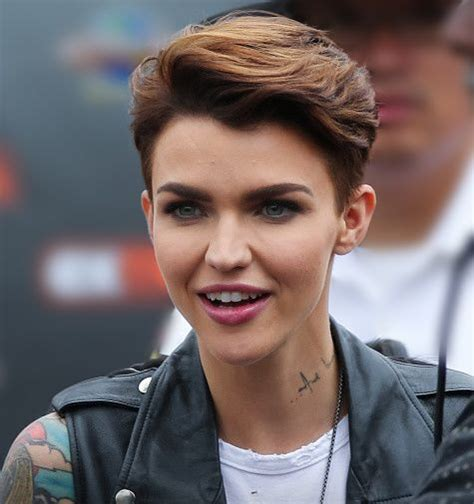 ruby rose hairstyles androgynous hairstyles short hairstyle 2013